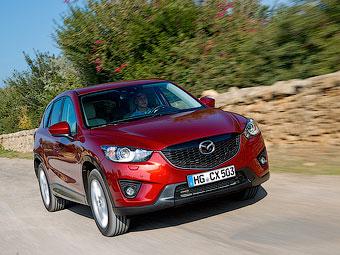 В Японии спрос на Mazda CX-5 превысил ожидания в восемь раз