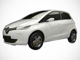 Китайцы выпустят клон электрокара Renault Zoe