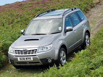 Компания Subaru отозвала 275 тысяч кроссоверов из-за ремней безопасности