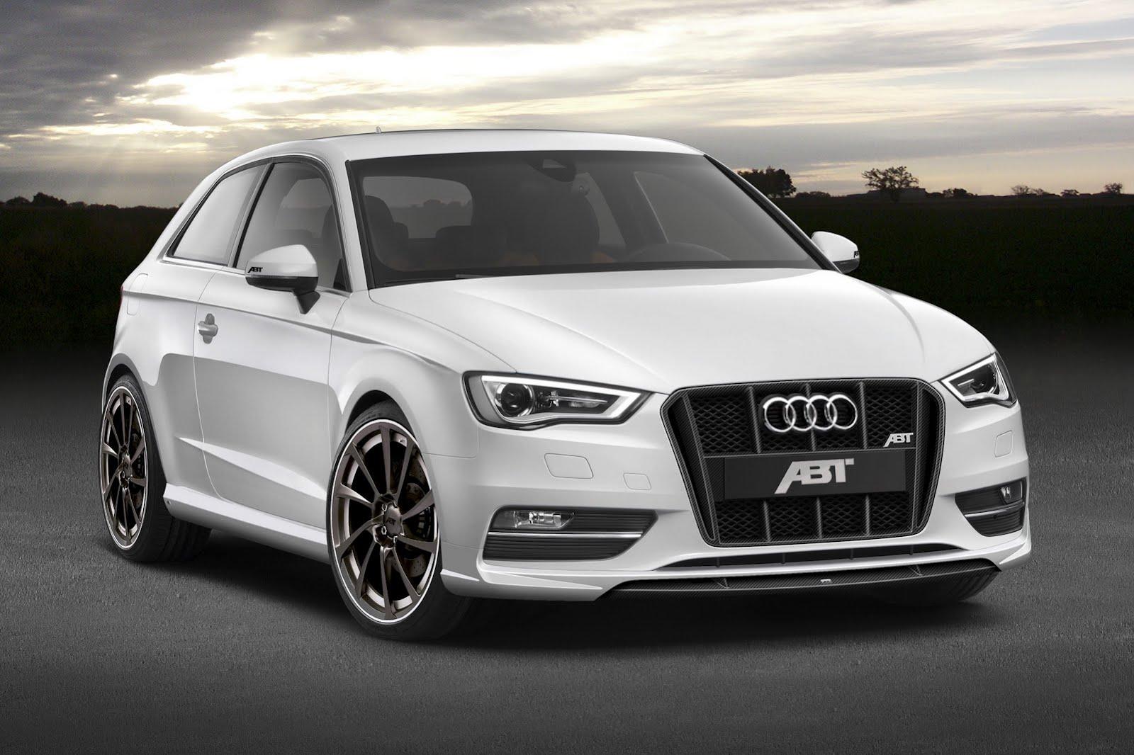 Ателье ABT разработало первый спорт-пакет для нового Audi A3