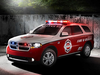 """""""Додж"""" подготовил внедорожник Durango для полиции и пожарных"""
