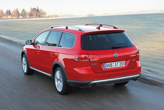 Тестируем новый Volkswagen Alltrack. Фото 3
