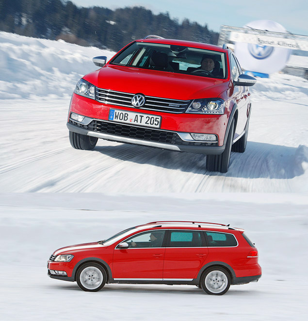 Тестируем новый Volkswagen Alltrack. Фото 4