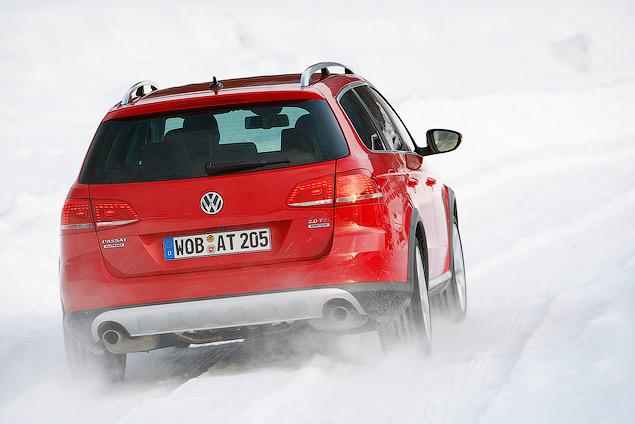 Тестируем новый Volkswagen Alltrack. Фото 5