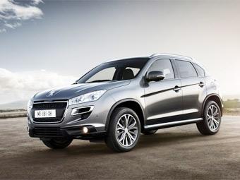 Компания Peugeot назвала российские цены на кроссовер 4008