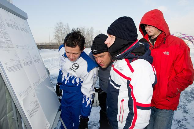 Россия против Австралии - гонки на льду. Фото 6