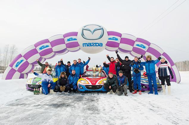 Россия против Австралии - гонки на льду. Фото 10