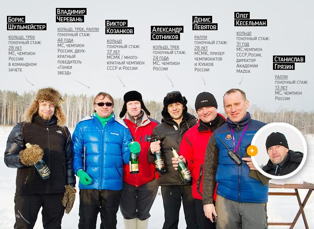 Россия против Австралии - гонки на льду. Фото 11