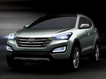 В сети появились подробности о новом Hyundai Santa Fe