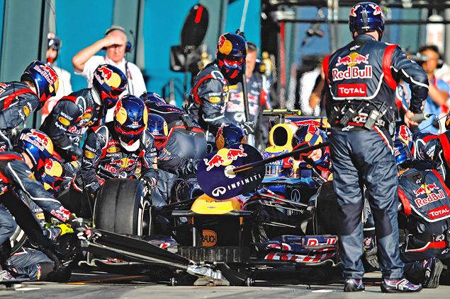 Как работает реклама в гонках Гран-при. Фото 4