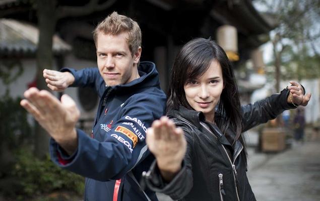 Как работает реклама в гонках Гран-при. Фото 5