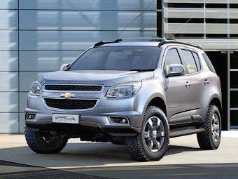 Тайцы первыми увидели новый рамный внедорожник Chevrolet