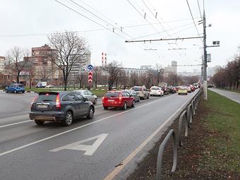 Автобусные полосы в Москве станут общедоступными в апреле