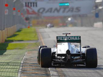 FIA отклонила жалобу на заднее антикрыло болида Mercedes W03