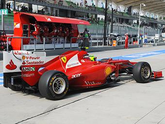 Scuderia Ferrari привезет в Бахрейн новый болид