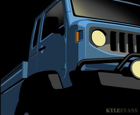 Прототипы представят на ежегодной встрече владельцев автомобилей Jeep