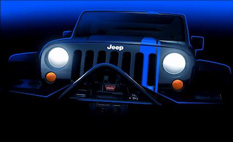 Прототипы представят на ежегодной встрече владельцев автомобилей Jeep. Фото 1