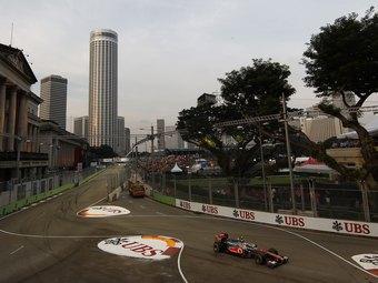 Вывод акций Формулы-1 на биржу поможет сохранить Гран-при Сингапура