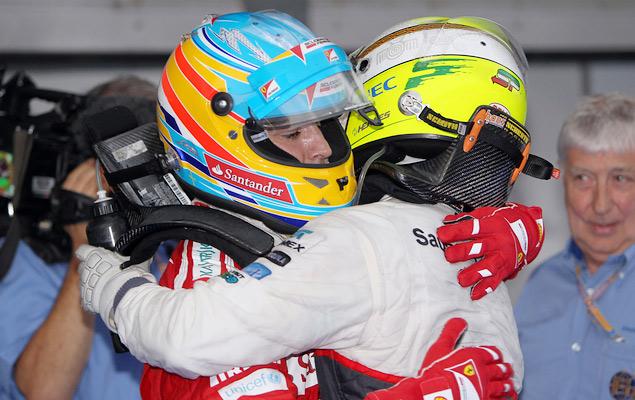 Фернандо Алонсо выиграл дождевой Гран-при Малайзии. Фото 12