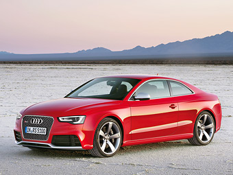Купе Audi RS5 после обновления подорожало в России на 28 тысяч рублей
