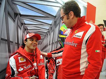 Босс команды Ferrari защитит Массу от критики