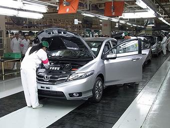 """""""Хонда"""" восстановила работу завода в Таиланде после затопления"""