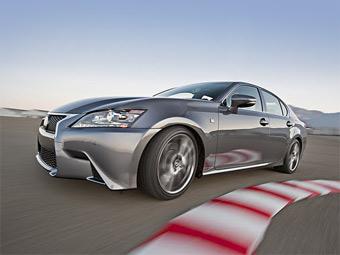 """""""Заряженный"""" Lexus GS будет конкурировать с BMW M5"""