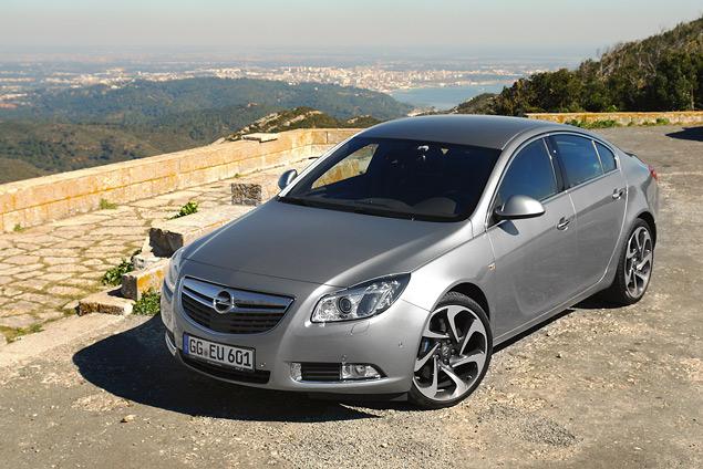 Раскручиваем две турбины дизельной Opel Insignia