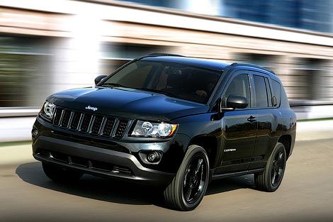 """Новую модификацию Jeep Grand Cherokee, Compass и Patriot назвали """"высотой"""". Фото 1"""