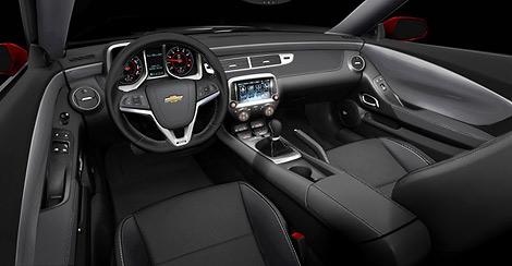 Вариант Chevrolet Camaro для гоночной трассы можно будет заказать с 2013 года