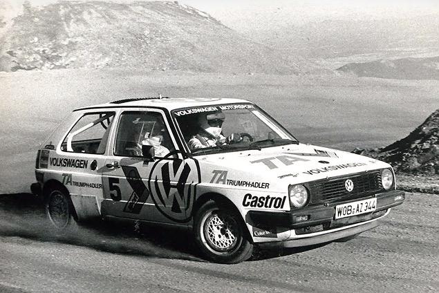 История автомобиля, который едва не выиграл Pikes Peak. Фото 6