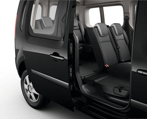 Фургон получил третий ряд сидений и багажник объемом 930 литров