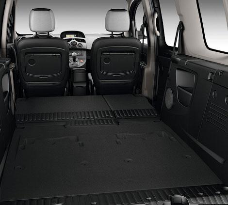 Фургон получил третий ряд сидений и багажник объемом 930 литров. Фото 1