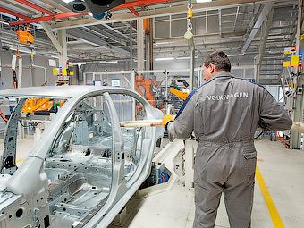 Российский завод VW будет выпускать машины из отечественной стали