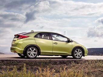 Объявлены российские цены на пятидверный Honda Civic