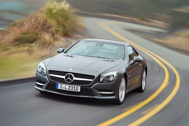 Чему научился Mercedes-Benz SL за шестьдесят лет. Фото 2