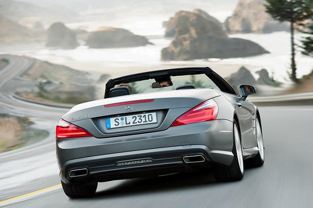 Чему научился Mercedes-Benz SL за шестьдесят лет. Фото 3