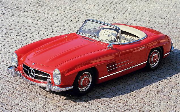 Чему научился Mercedes-Benz SL за шестьдесят лет. Фото 7