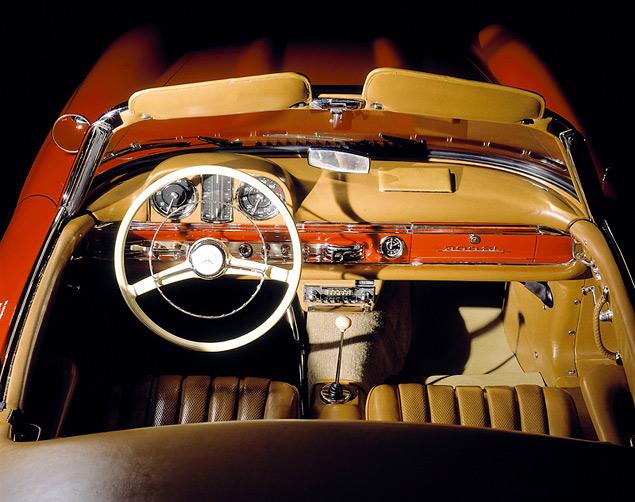 Чему научился Mercedes-Benz SL за шестьдесят лет. Фото 11