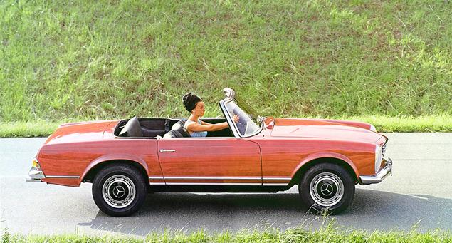 Чему научился Mercedes-Benz SL за шестьдесят лет. Фото 13