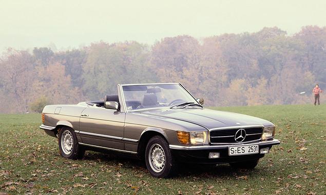 Чему научился Mercedes-Benz SL за шестьдесят лет. Фото 14
