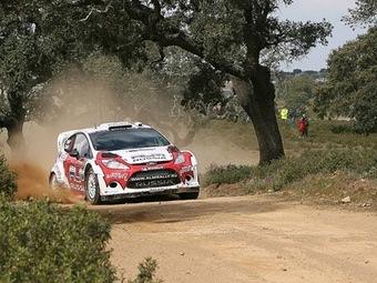 Новиков завоевал свой первый подиум в WRC