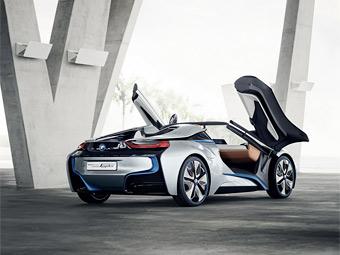 Гибридному спорткару BMW отрезали крышу