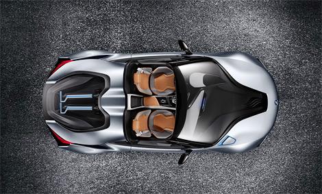 Дебют родстера BMW с гибридной силовой установкой состоится в Пекине