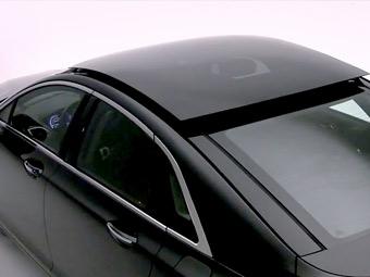 Lincoln разработал самую большую сдвигающуюся стеклянную крышу среди седанов