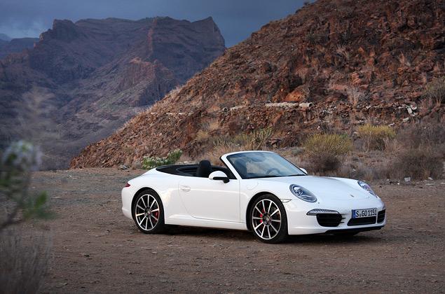 Знакомство с Porsche 911 на примере кабриолета