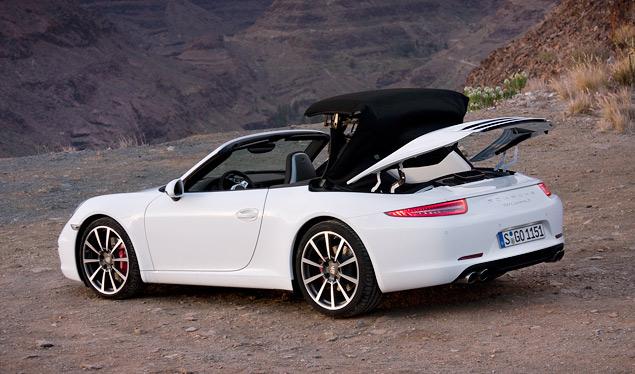 Знакомство с Porsche 911 на примере кабриолета. Фото 2
