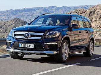 В интернете рассекретили внешность обновленного Mercedes-Benz GL
