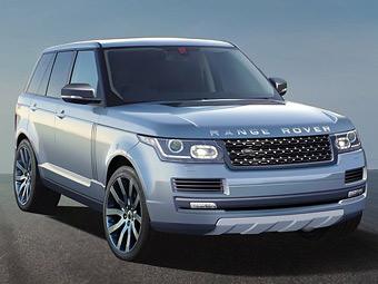 Новый Range Rover похудеет на 400 килограммов