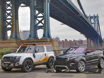 """Land Rover построил """"экспедиционный"""" вариант нового """"Дефендера"""""""